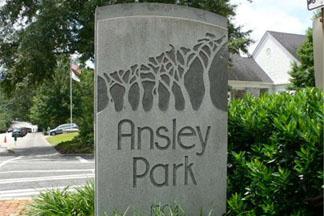 Ansley Park Marker